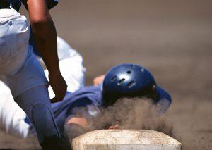 野球ソフトボール肩腕腰足の痛み