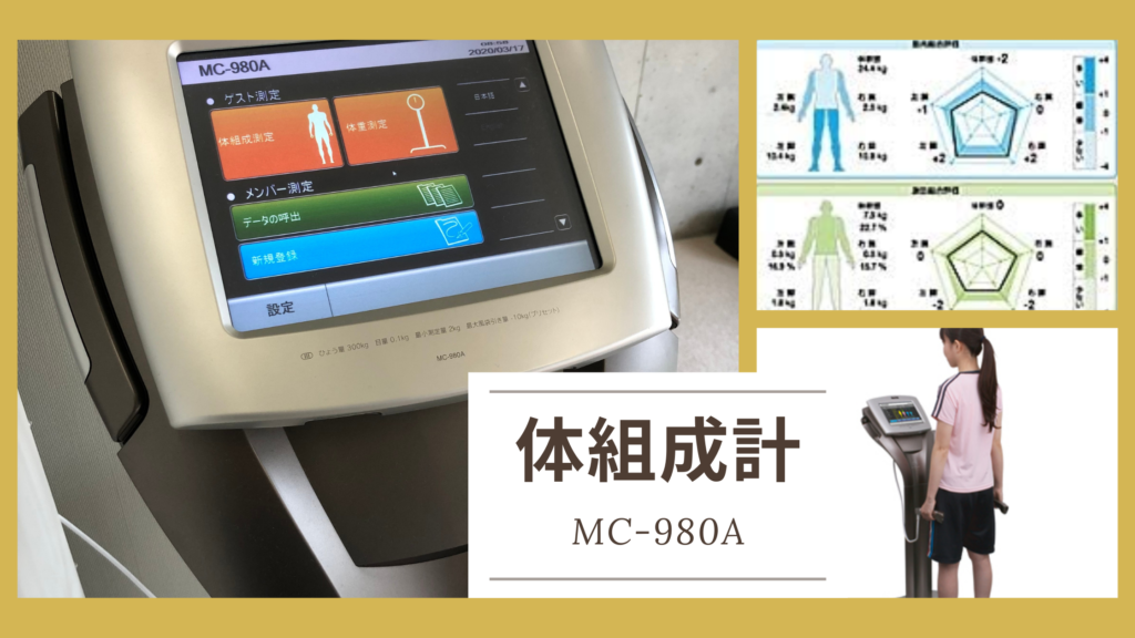 八女整骨院なかきど体組成計MC-980A